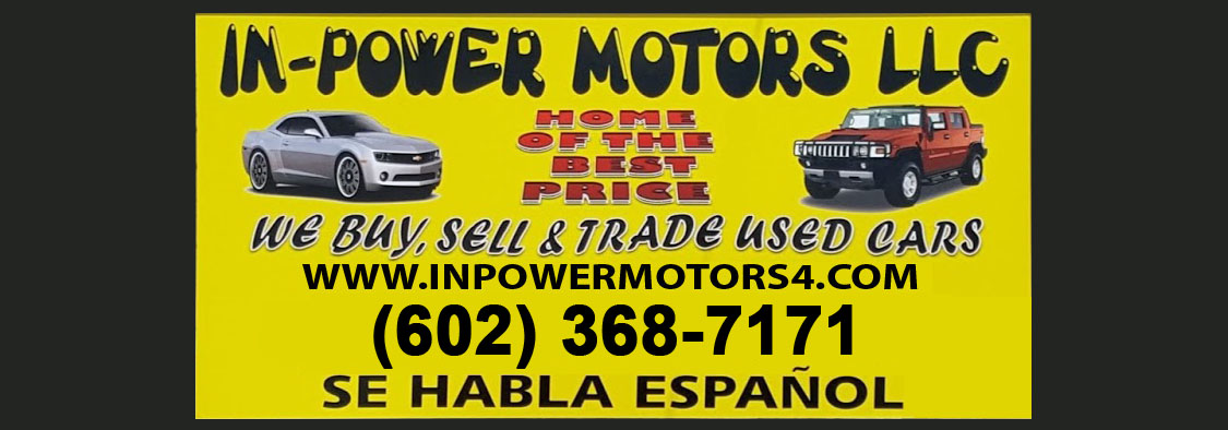 Bad Credit Car Dealers >> 500 Down Used Cars Phoenix | Buy Here Pay Here - In Power Motors 4