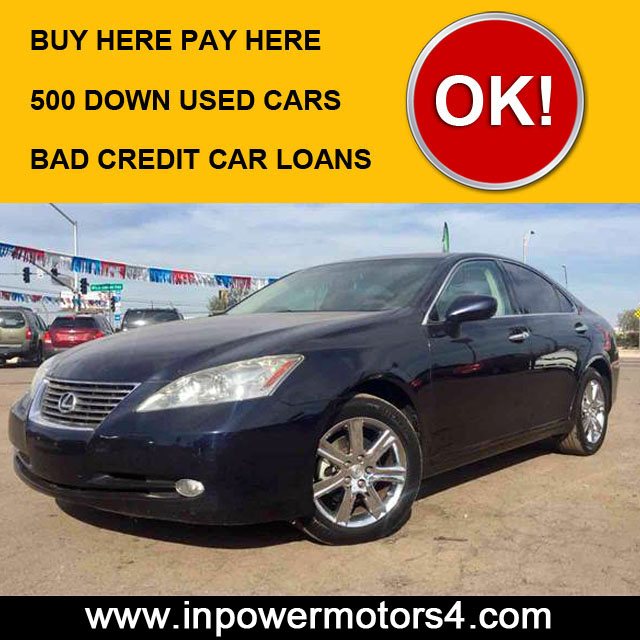 500 Down Used Cars Phoenix | Buy Here Pay Here - In Power ...