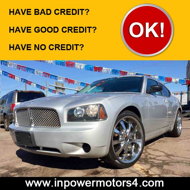 Bad or No Credit Car Sales Phoenix